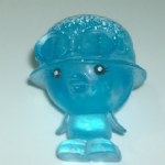 Moshi Monsters #071 Peppy Frostbite blue